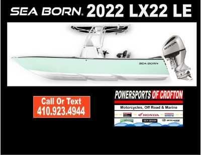 View 2022 Sea Born LX22 Center Console LE - Listing #292751