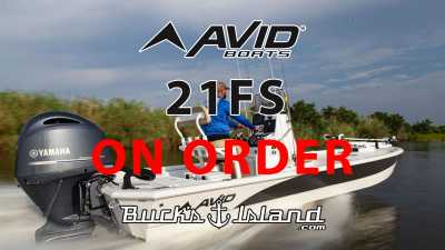 View 2022 Avid 21FS ON ORDER - Listing #311288