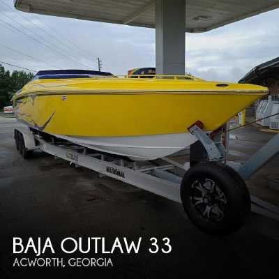 View 2002 Baja Outlaw 33 - Listing #311387