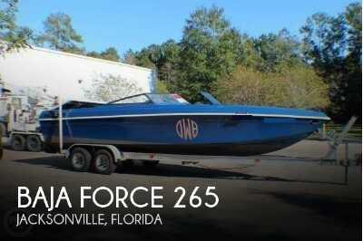 View 1987 Baja Force 265 - Listing #52457