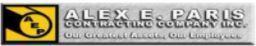 Logo for Alex E Paris Constr Co
