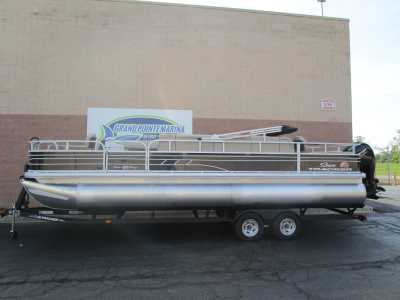 View 2022 Sun Tracker Fishin' Barge 24 DLX - Listing #318228