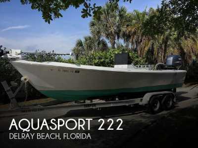 View 1987 Aquasport 222 - Listing #318614
