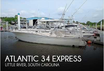 View 1989 Atlantic 34 Express - Listing #285127