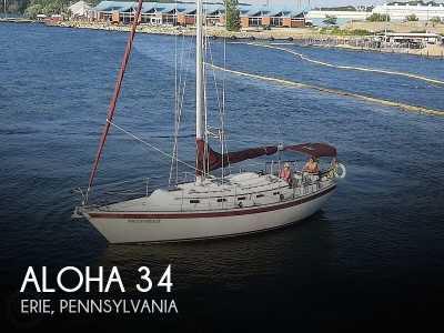 View 1984 Aloha 34 - Listing #274932