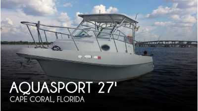 View 2000 Aquasport 275 Explorer - Listing #52299