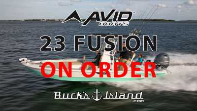 View 2022 Avid 23 Fusion ON ORDER - Listing #303976