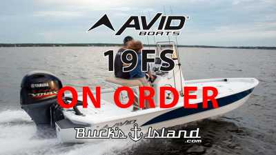 View 2022 Avid 19FS ON ORDER - Listing #303979