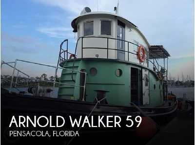View 1946 Arnold Walker 59 Bow Tug - Listing #311608