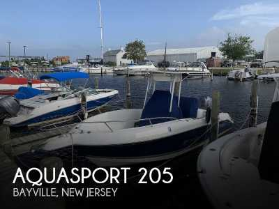 View 2004 Aquasport 205 Osprey Tournament Master - Listing #309511