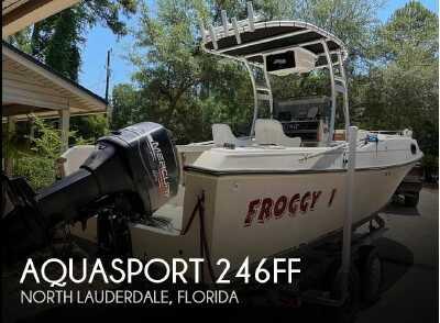View 1980 Aquasport 246FF - Listing #310044