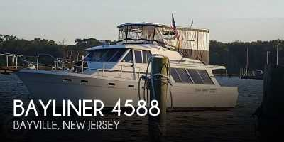 View 1988 Bayliner 4588 Pilothouse MY - Listing #281977