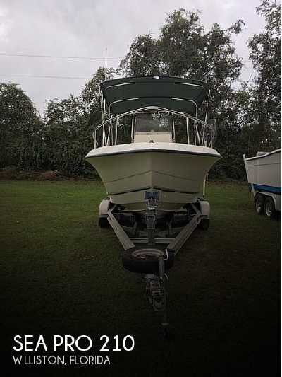 View 1999 Sea Pro 210 - Listing #190677
