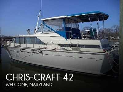 View 1968 Chris-Craft 42 Commander - Listing #195934
