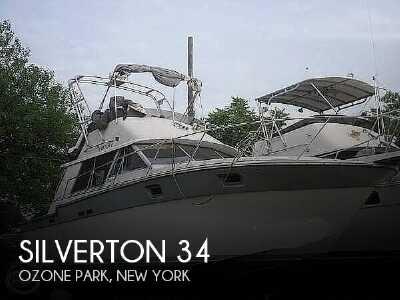 View 1988 Silverton 34 Convertible - Listing #50757