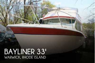 View 1974 Bayliner 33 Uniflight - Listing #52661