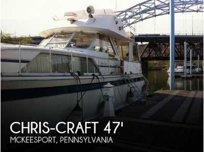 View 1975 Chris-Craft 47 Commander - Listing #52499