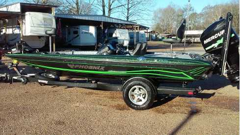 View 2019 Phoenix Bass Boats Popular Color Options - Listing #313943