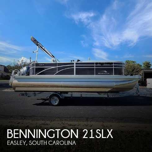 View 2021 Bennington 21SLX - Listing #319732