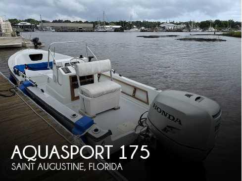 View 1987 Aquasport 175 - Listing #302788