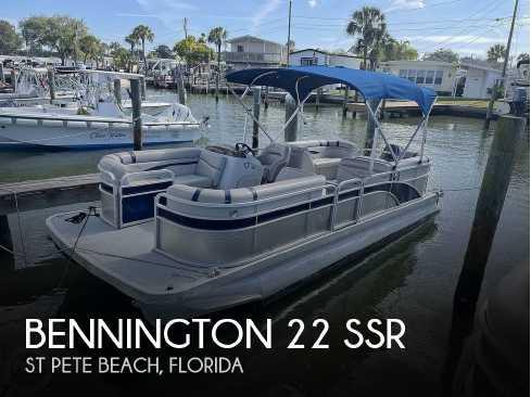 View 2017 Bennington 22 SSR - Listing #155248