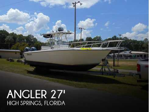 View 2002 Angler 274 Center Console - Listing #51696